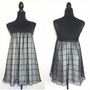 Used, Helen Wang NYC Boutique Silk Baby Doll Dress for sale